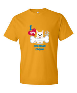 I Love my American Eskimo Dog T-Shirt