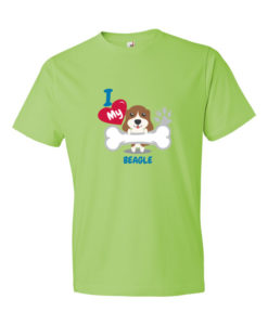 I Love my Beagle Dog T-Shirt