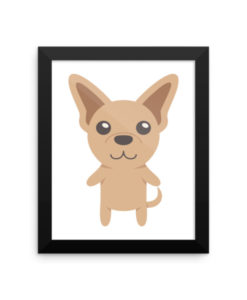 Chihuahua Framed Poster