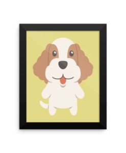 Cocker Spaniel Framed Poster
