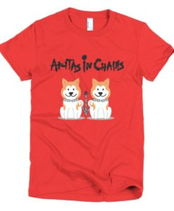 Akitas In Chains Women's T-Shirt