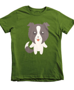 Border Collie Youth/Kids T-Shirt